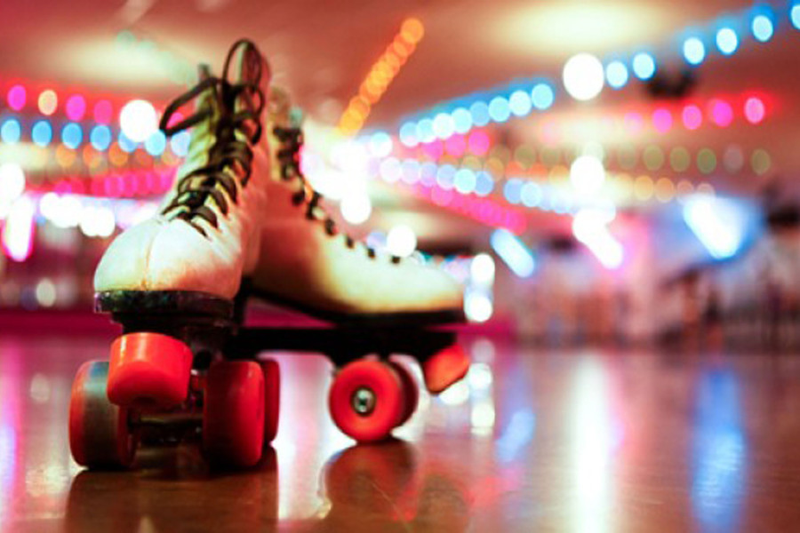 1980's Roller Skating Party